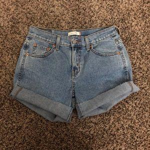 Levi's Shorts - High Waisted Levi's Denim Shorts
